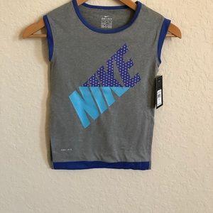 Nike girls dry-fit tank
